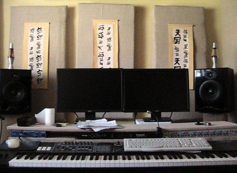 Studio Desk View