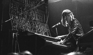 Keith Emerson at the mighty moog.